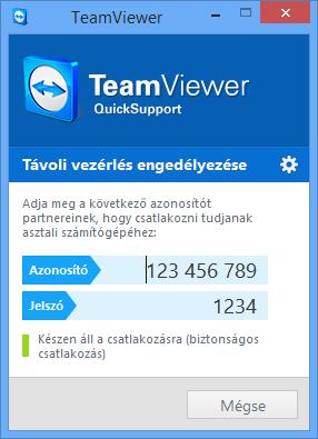 teamviewer azonositó